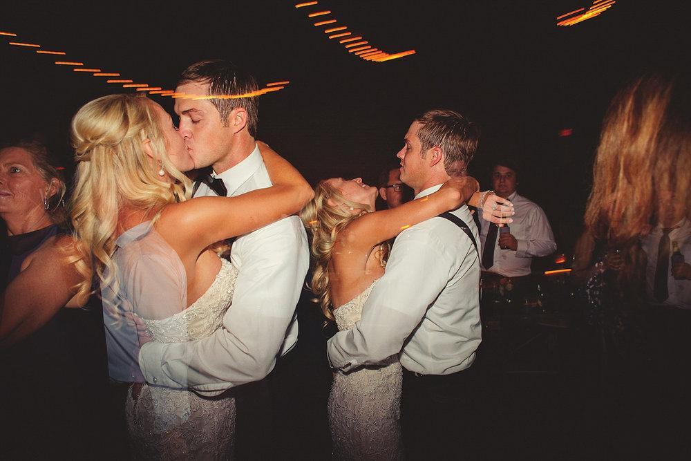 Chalres Morris Center Wedding: double exposure