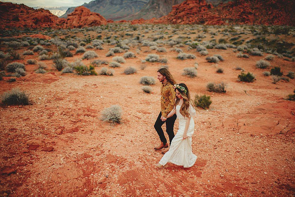 valley of fire engagement photos : desert
