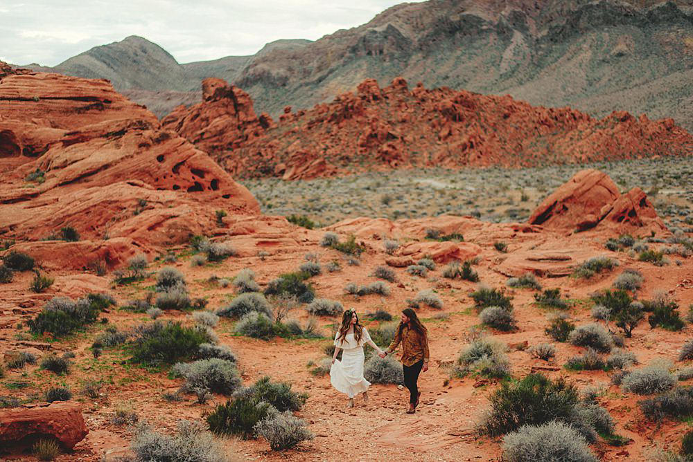 valley of fire engagement photos