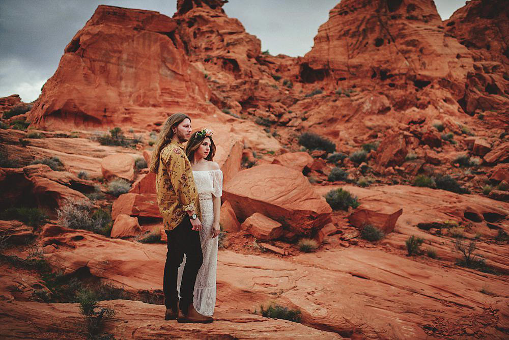 valley of fire engagement photos : epic pictures