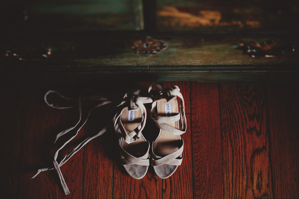 casa feliz wedding photos: steve madden wedding tie shoes