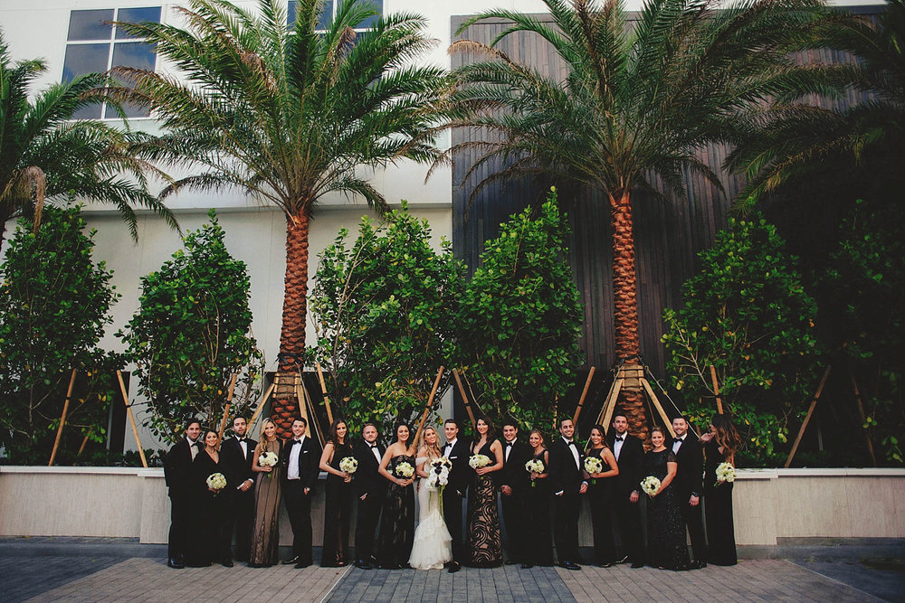 romantic-w-fort-lauderdale-wedding: bridal party