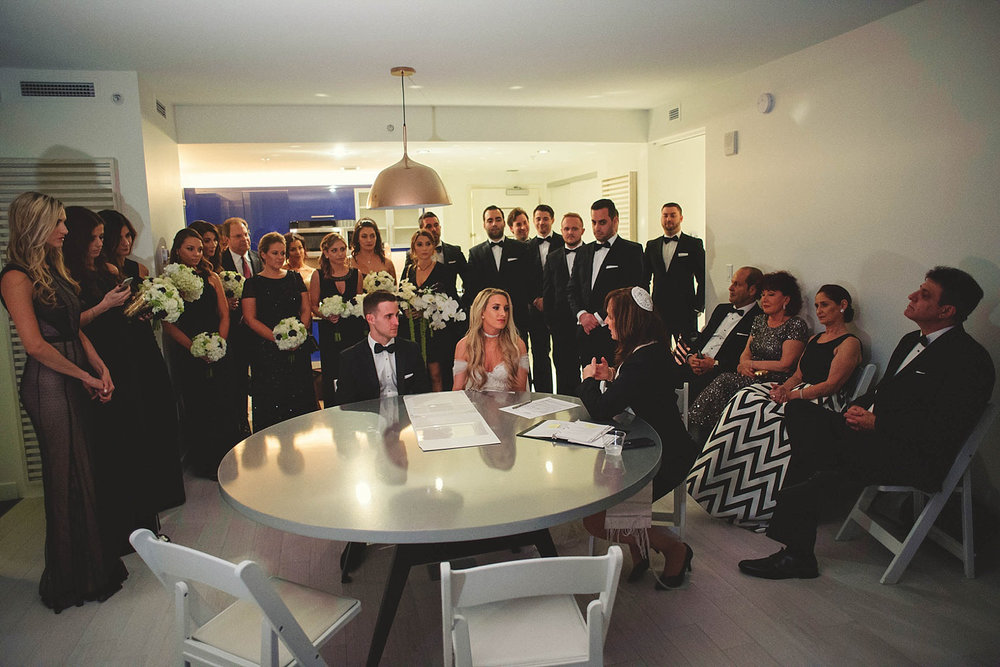 romantic-w-fort-lauderdale-wedding: jewish ceremony