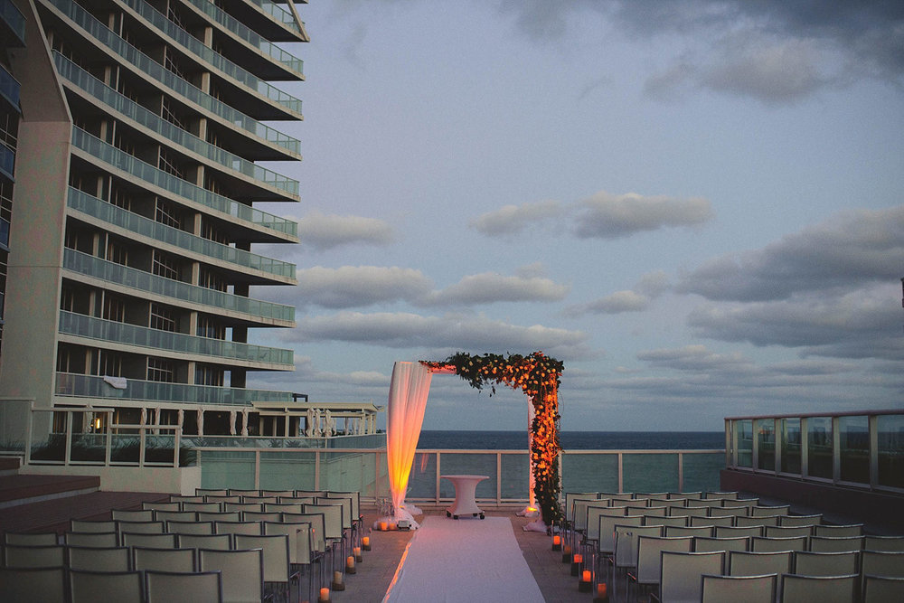 romantic-w-fort-lauderdale-wedding: ceremony setup