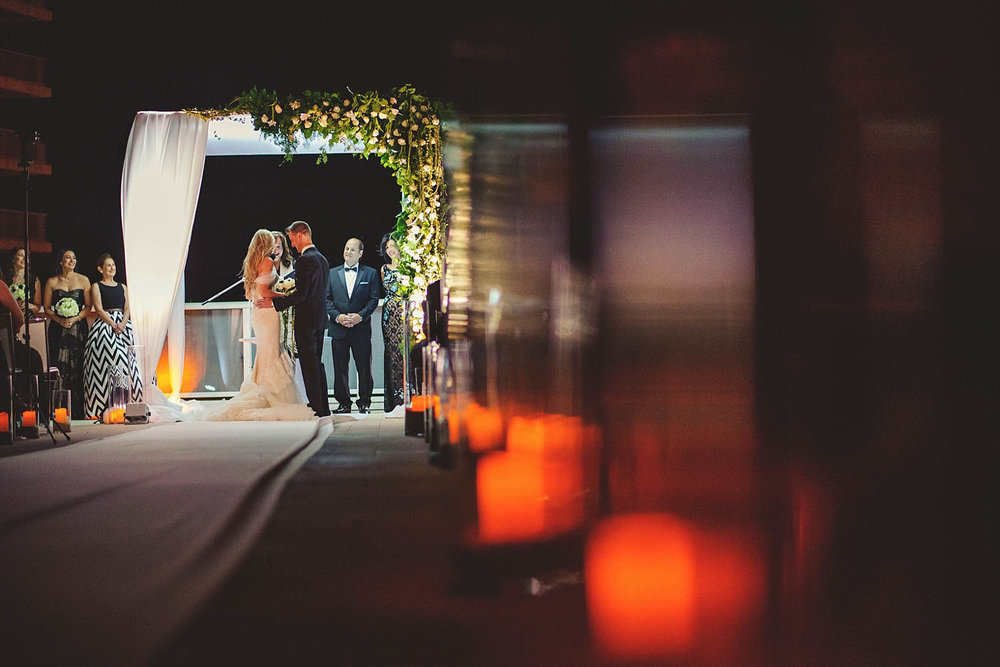 romantic-w-fort-lauderdale-wedding: artistic ceremony shot