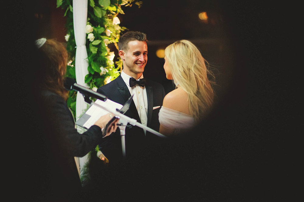 romantic-w-fort-lauderdale-wedding: groom smiling at bride