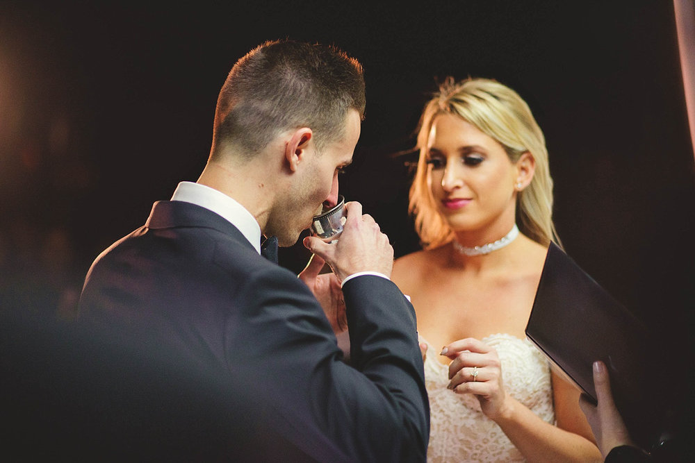 romantic-w-fort-lauderdale-wedding: groom sipping from cup