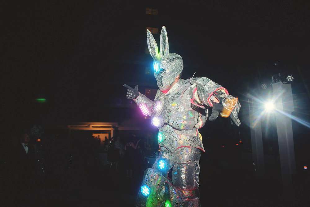romantic-w-fort-lauderdale-wedding: rabbit robot