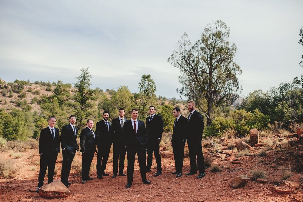 sedona golf resort wedding photos