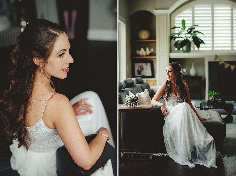 knowles memorial chapel wedding: bridal portraits