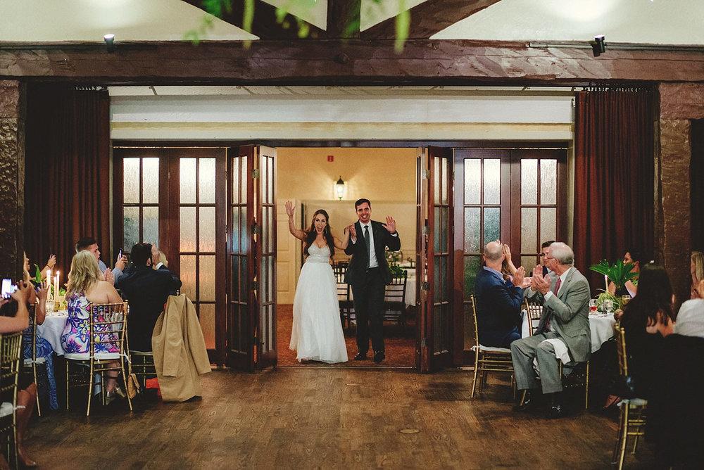 dubsbread wedding reception:  intrductions