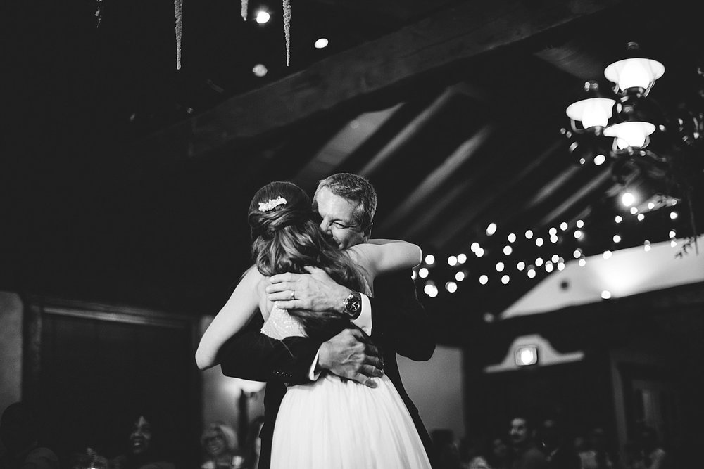 dubsbread wedding reception:  father daughter dance