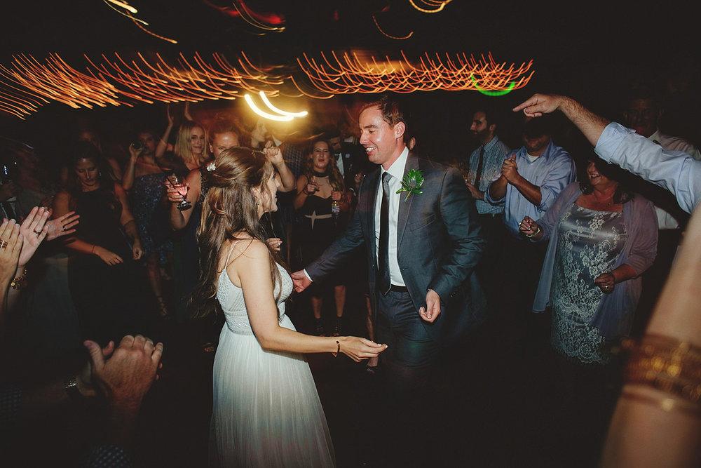 dubsbread wedding reception:  fun dancing