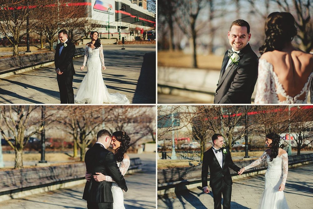 chelsea piers wedding photos