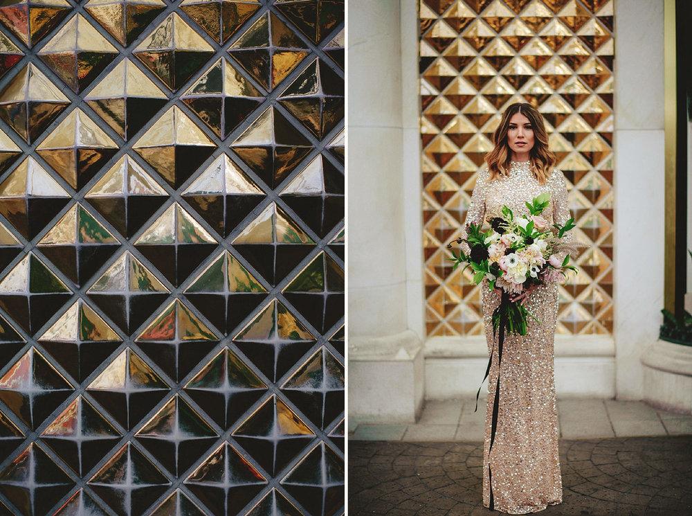 golden nugget bride