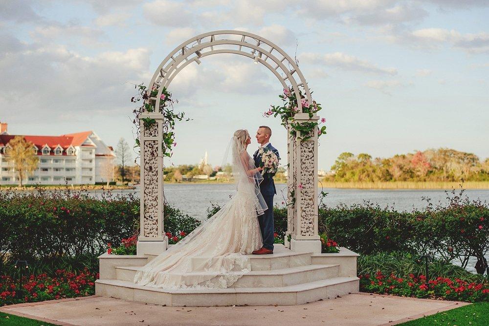 grand floridian wedding photos