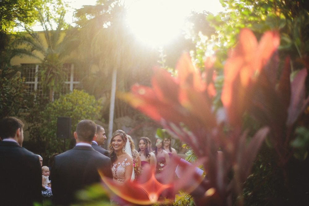 sunken gardens wedding photos