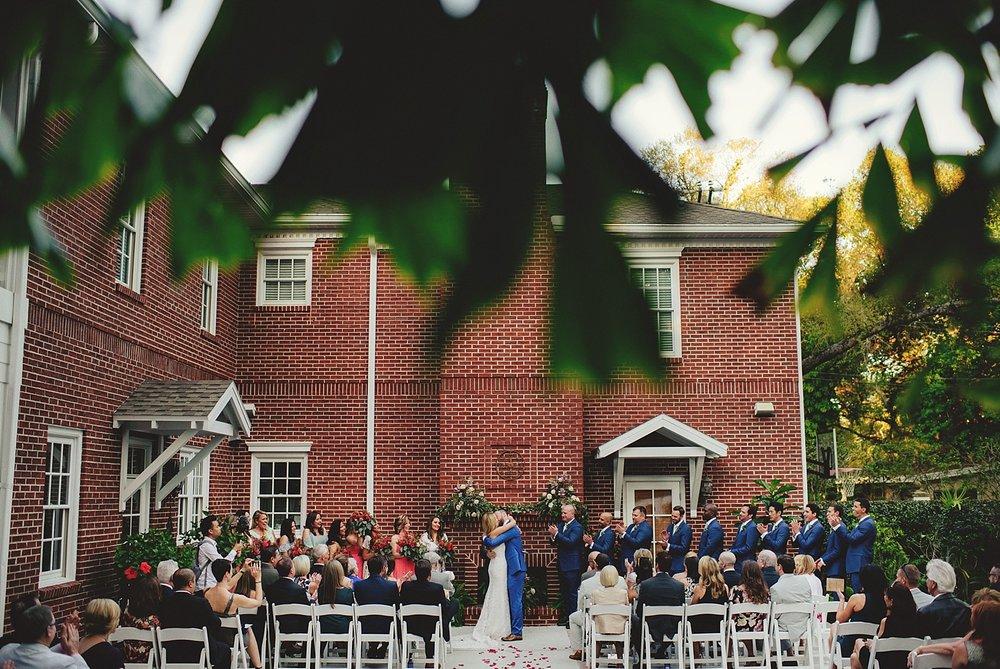 backyard wedding in tampa