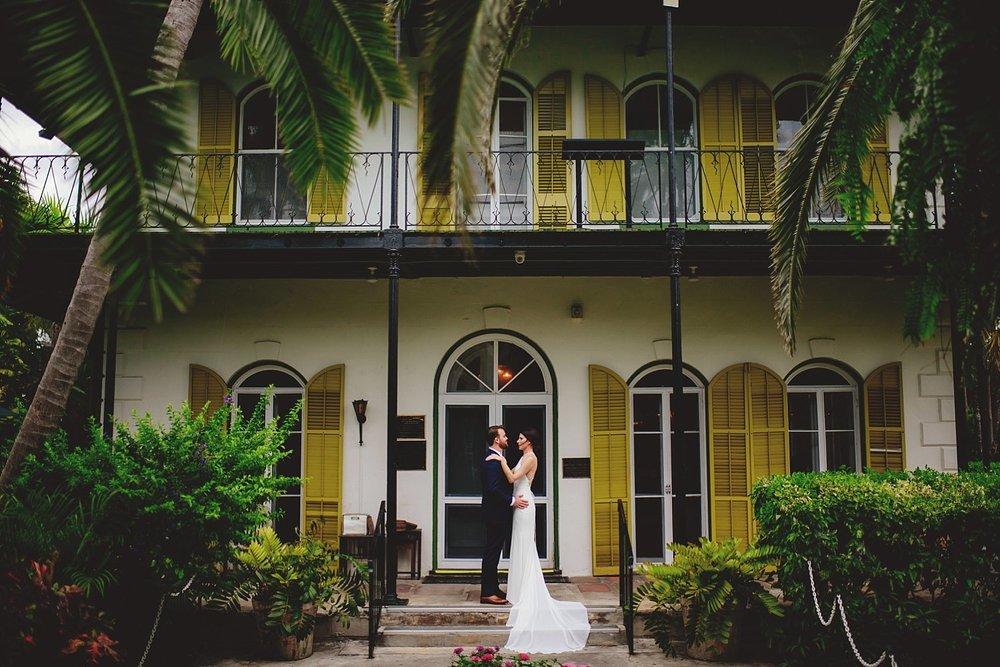 hemingway house wedding photos