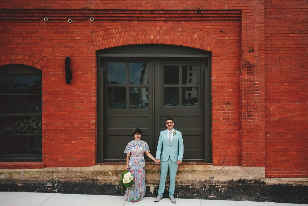 Armature Works Wedding Photos