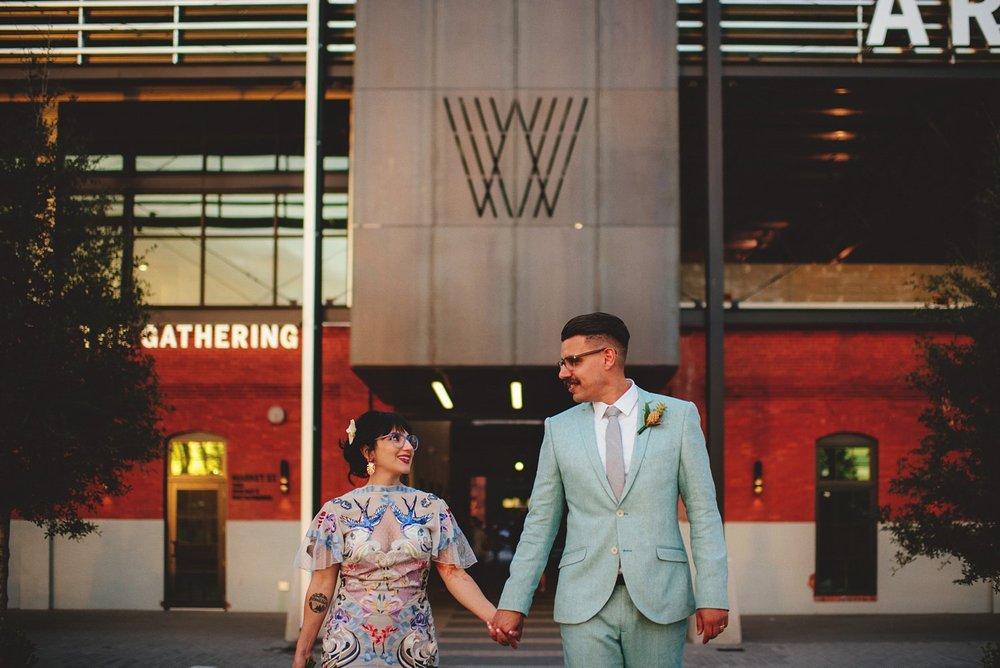 Armature Works Wedding Photos