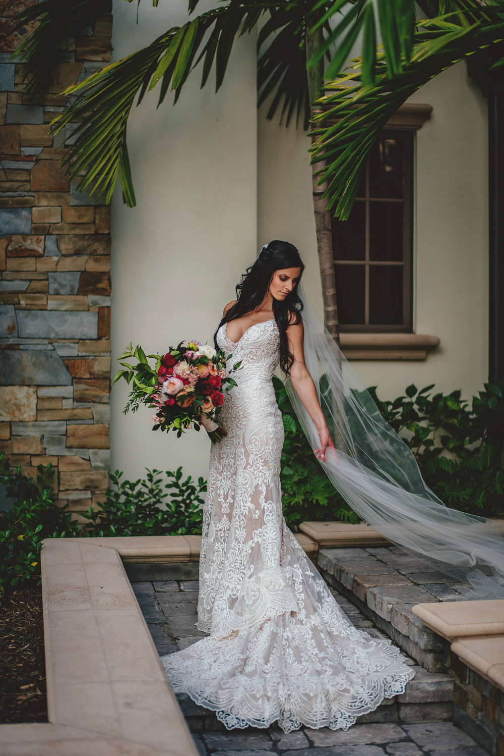 Tampa Backyard Wedding photos