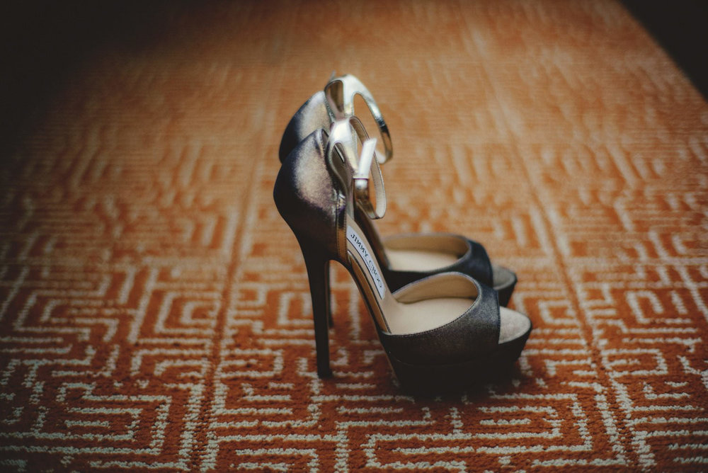 editorial ringling wedding: jimmy choos wedding shoes