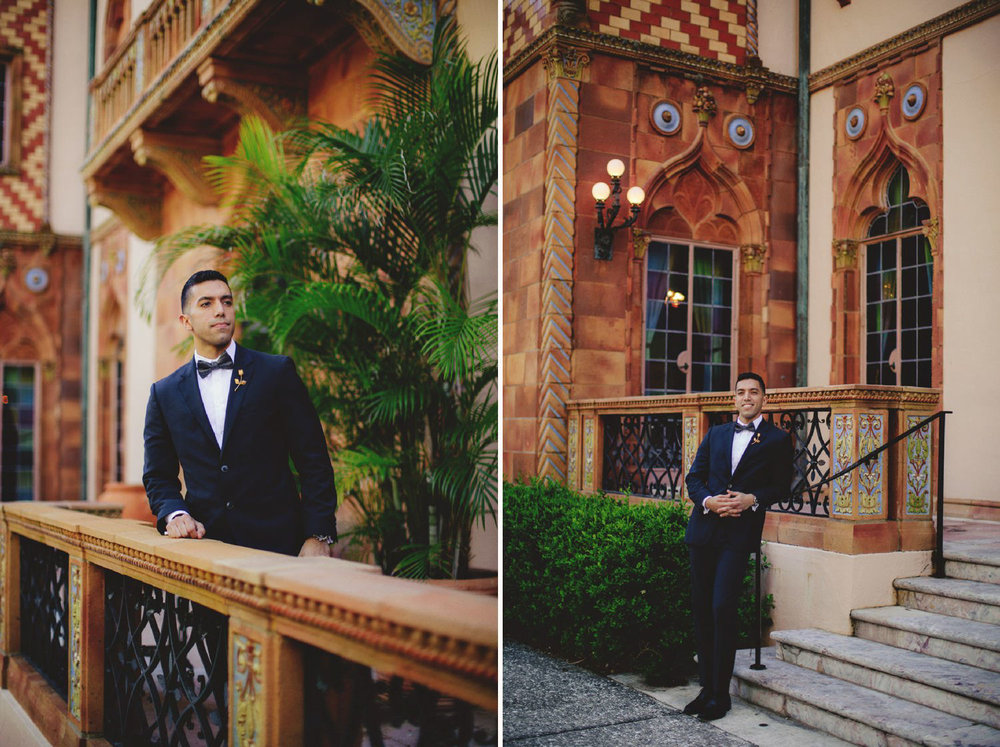 editorial ringling wedding: groom pictures