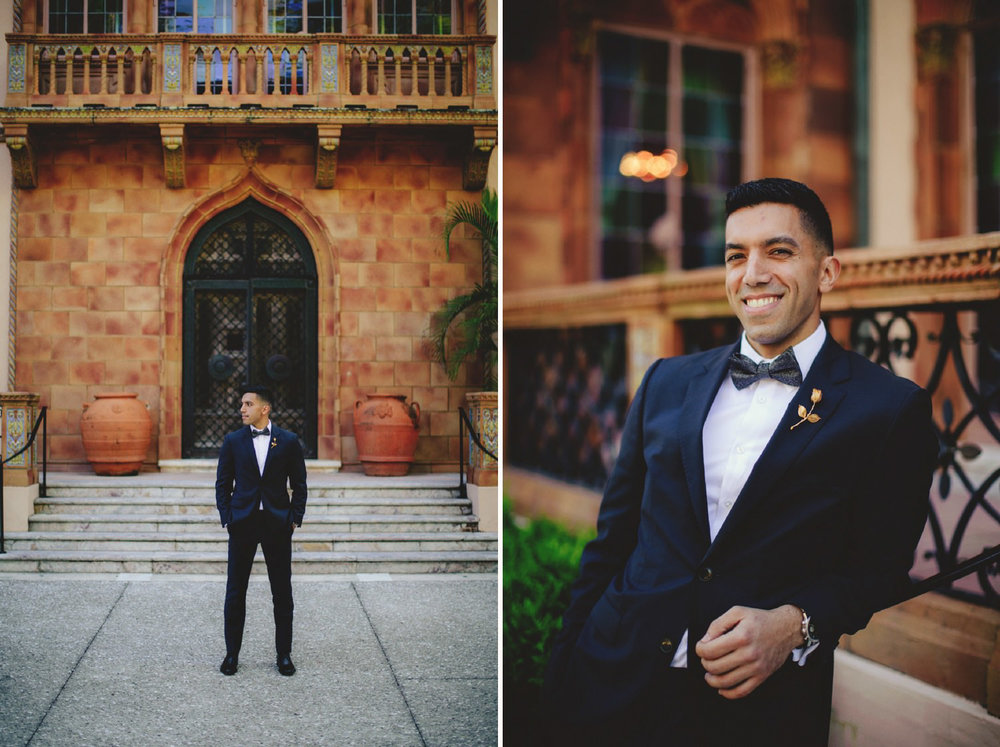 editorial ringling wedding: groom portraits