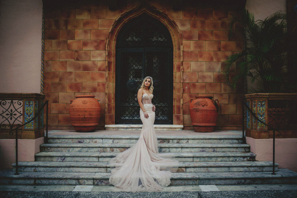 editorial ringling wedding: stylish bride