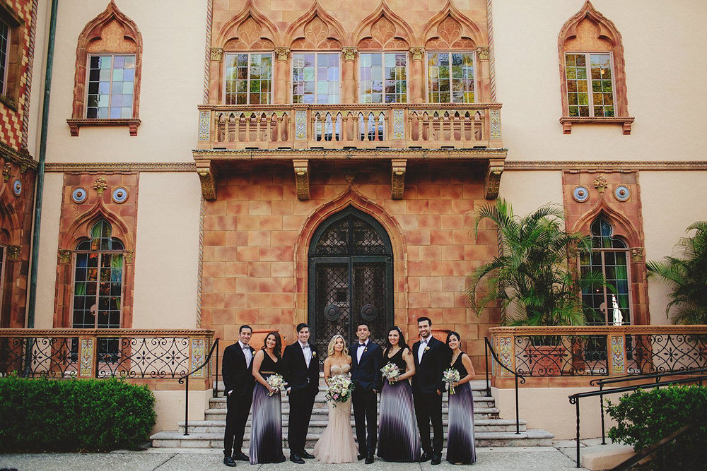 editorial ringling wedding: bridal part photos