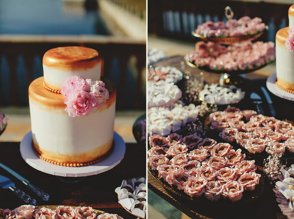 editorial ringling wedding: cake