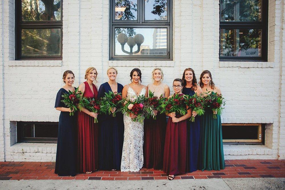 station house wedding bridesmaid photos