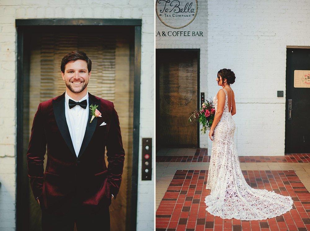 station house wedding photos