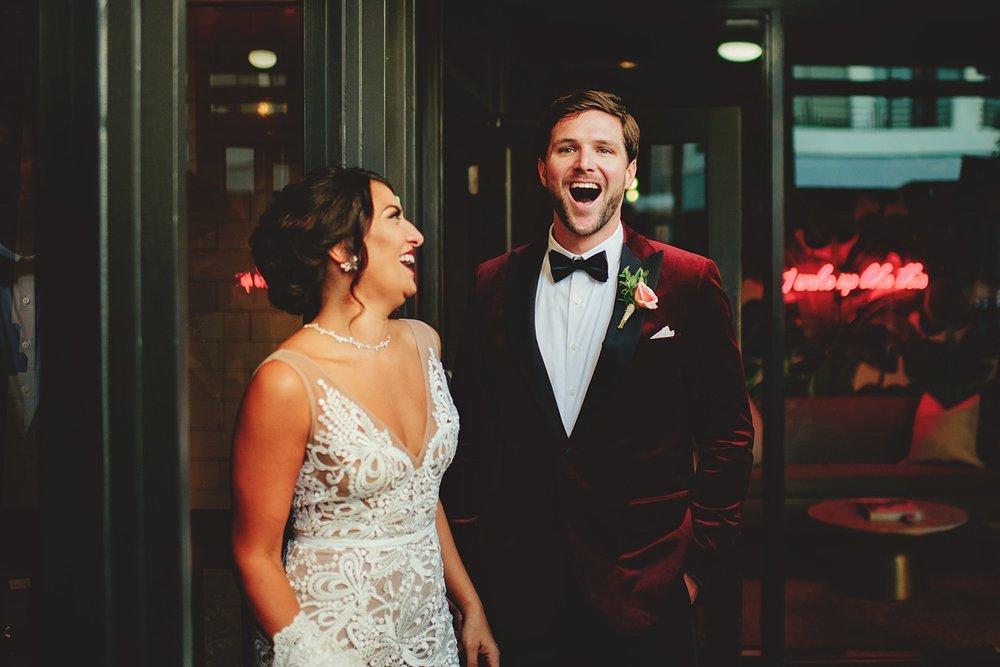 bride surprises groom