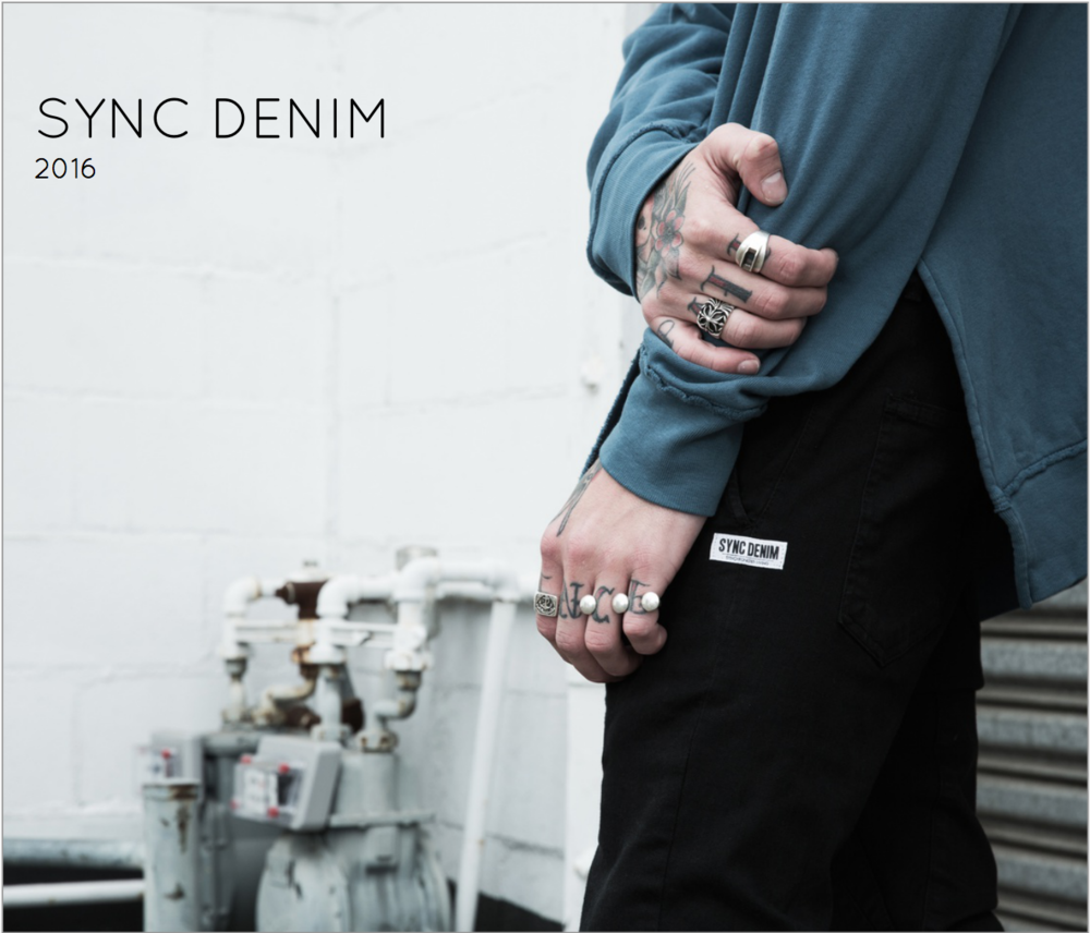 Sync Denim 2016 Lookbook