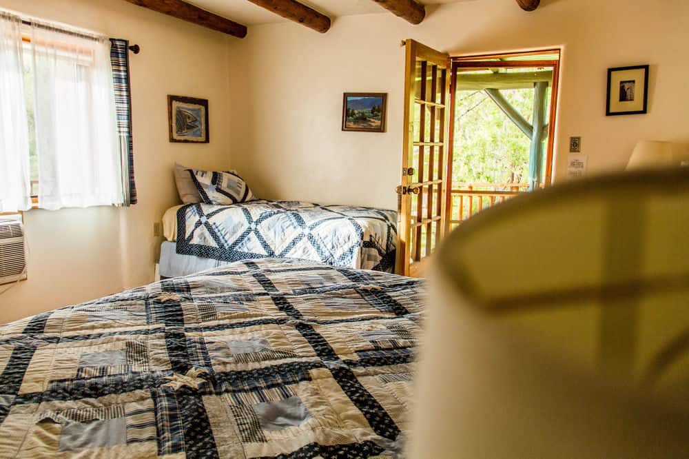 A double Room at Blue Sky Retreat Center