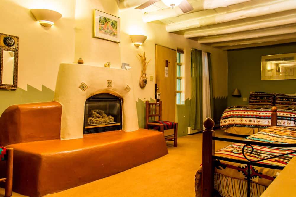 A Triple Room at Blue Sky Retreat Center