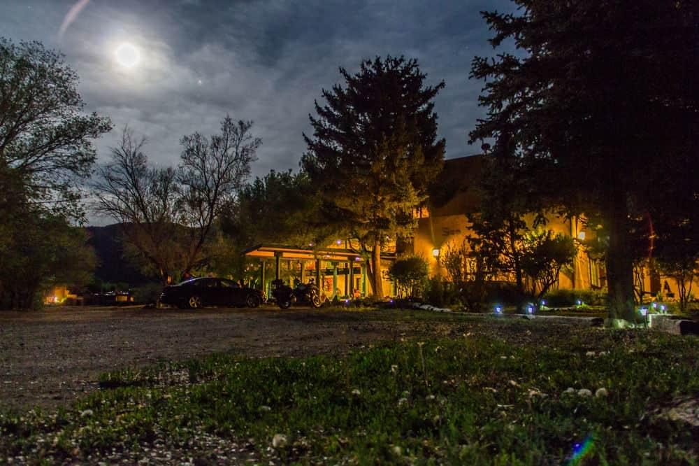 Full Moon over Blue Sky Retreat Center