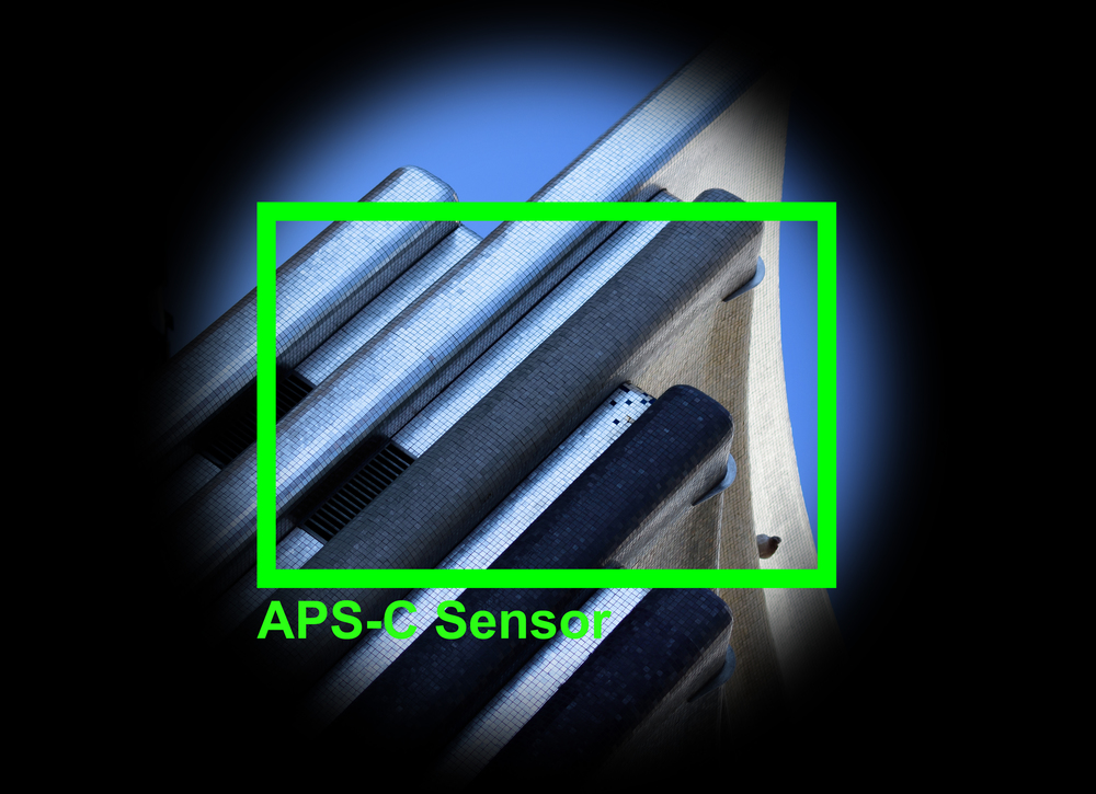 APS-C Objektiv auf APS-C Kamera