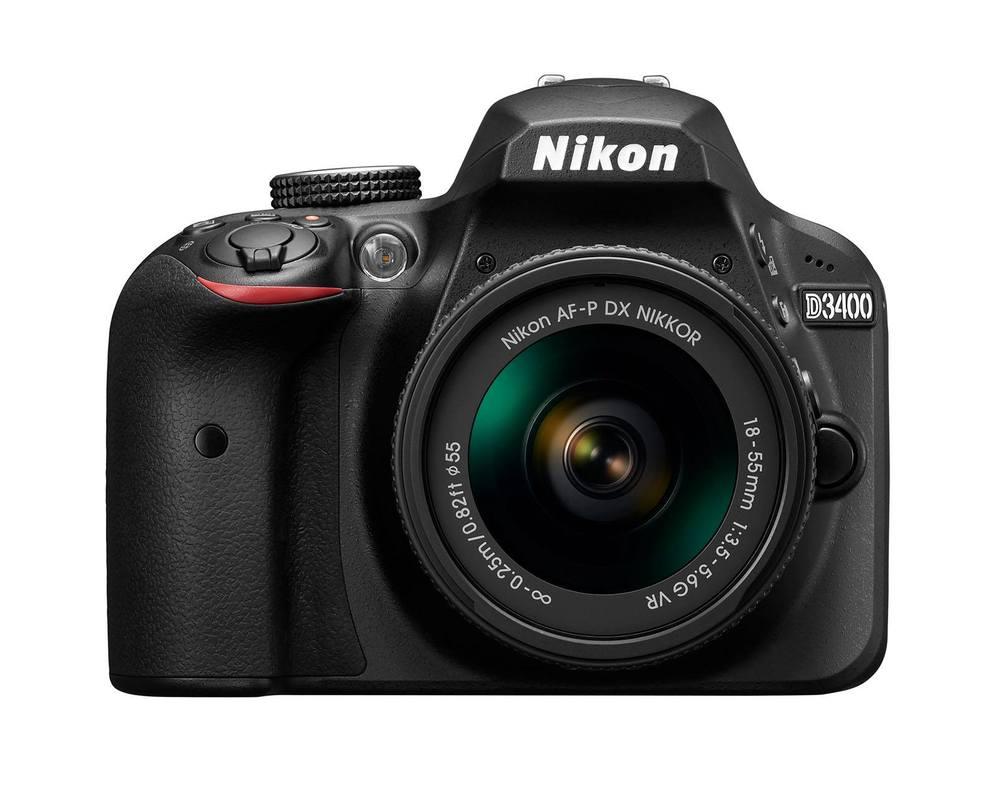 Nikons neuestes Einsteigermodell: Die Nikon D3400. Ab September im Handel (Foto: Nikon).