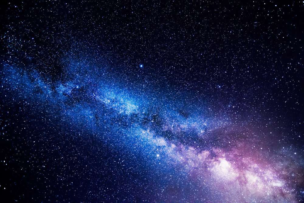 Milchstraße manuelle Belichtung Modus M