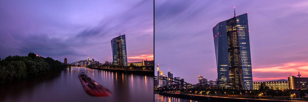 Mit einem Weitwinkelobjektiv (links) bekommen wir mehr von der Umgebung aufs Bild, mit einer höheren Brennweite (rechts) verengt sich hingegen der Bildausschnitt, die Perspektive bleibt jedoch unverändert.