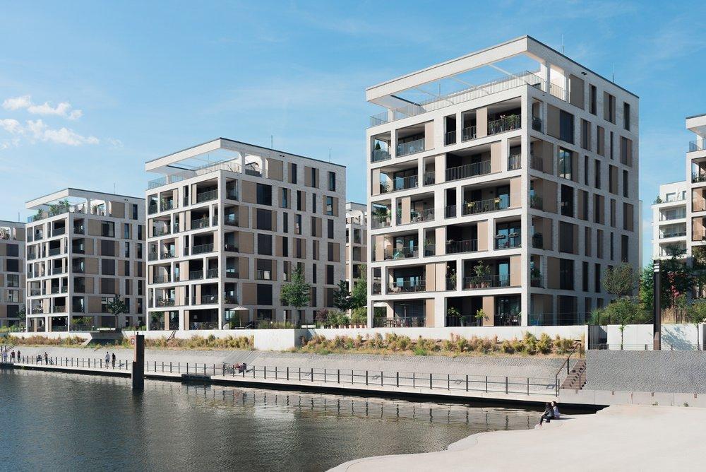 Hafengebäude Offenbach
