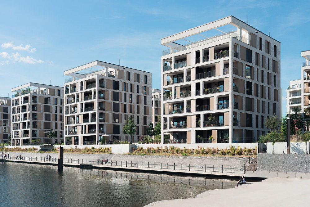 real estate photographer frankfurt new homes at harbour offenbach