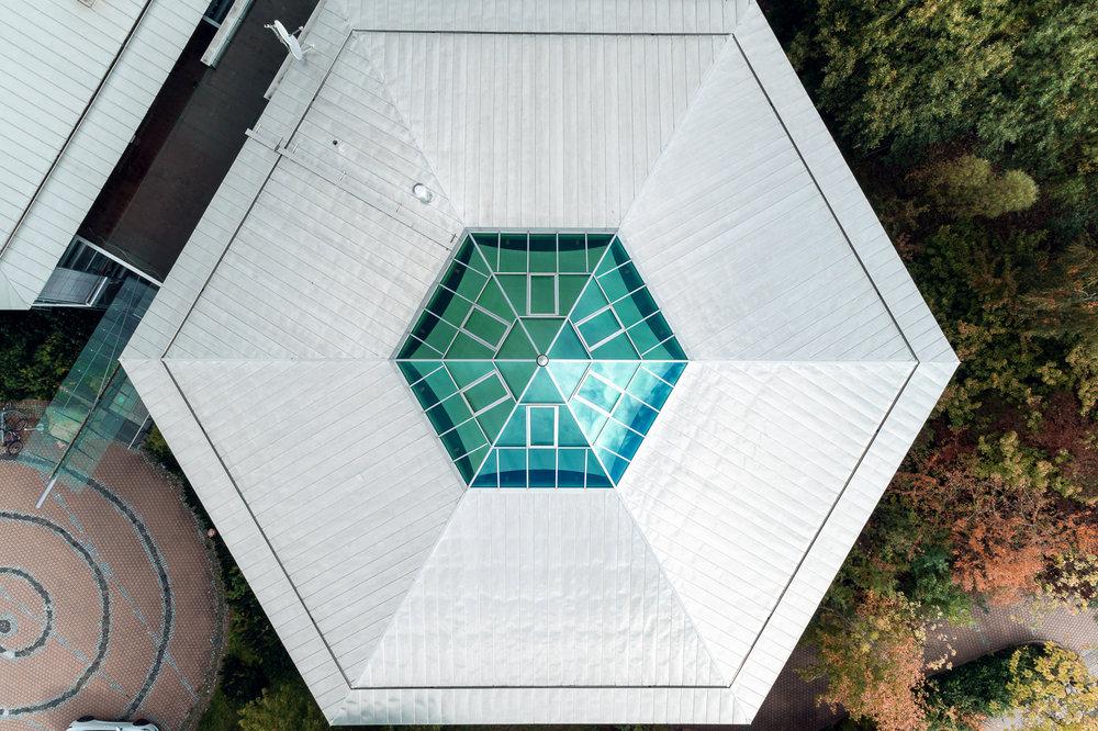 Detailaufnahme Dronenfotografie