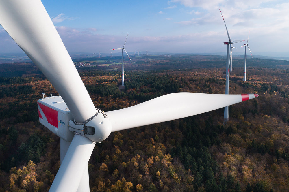 Windrad Hessen - Windpark Heidenroth