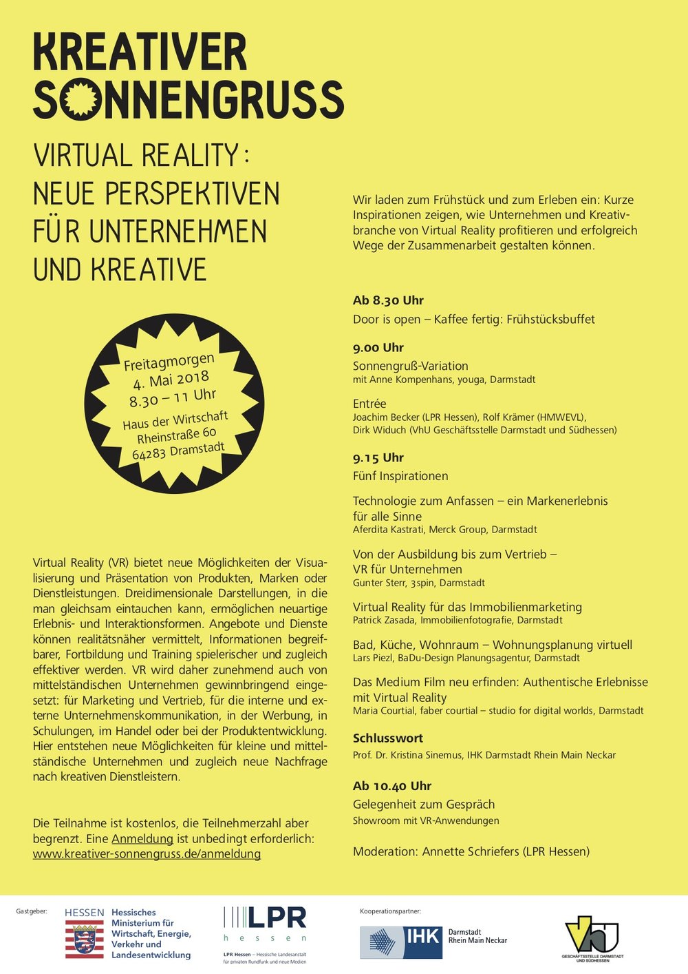 Darmstadt Veranstaltung vr marketing