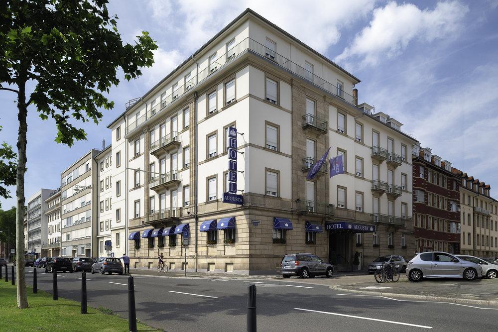 Hotel Augusta Mannheim Außen