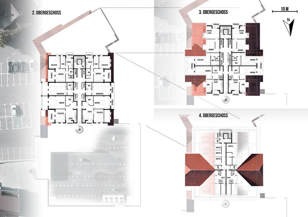Grundriss Obergeschosse